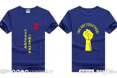 吉林汪清综合高中2班毕业班服t恤衫
