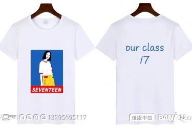 东莞市南开实验学校17班个性班服t恤衫